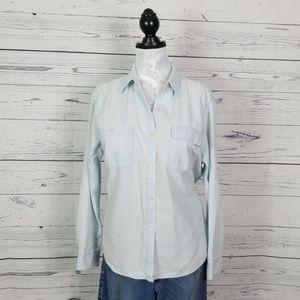 Lauren Jeans Company button down blouse